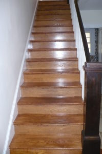 Stairs from foyer